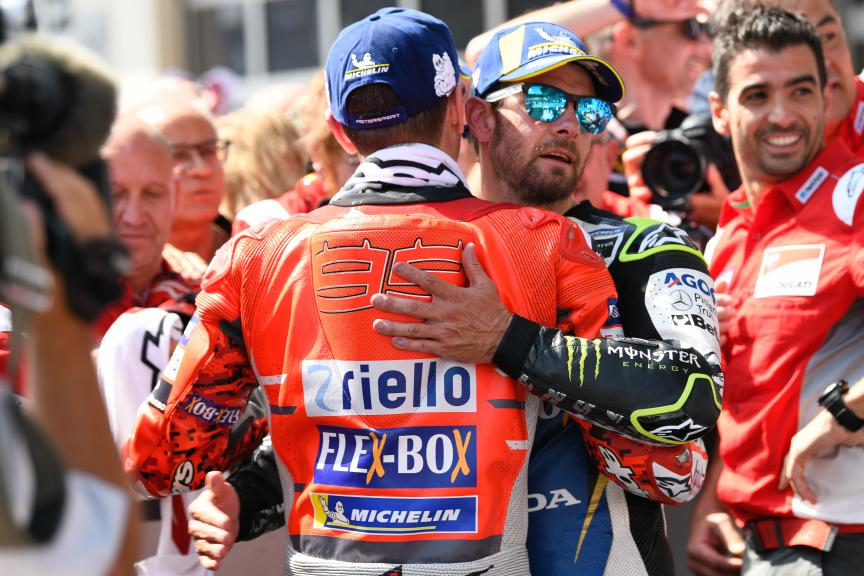 Jorge Lorenzo, Cal Crutchlow, eyetime Motorrad Grand Prix von Österreich