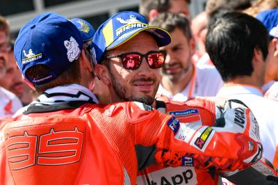 """Dovizioso: """"We took the wrong decision on the rear tyre"""""""
