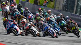 The full race session of the Moto3™ World Championship at the Red Bull Ring