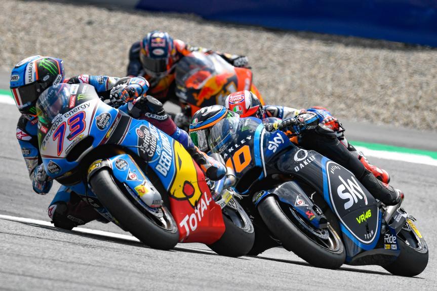 Moto2, eyetime Motorrad Grand Prix von Österreich