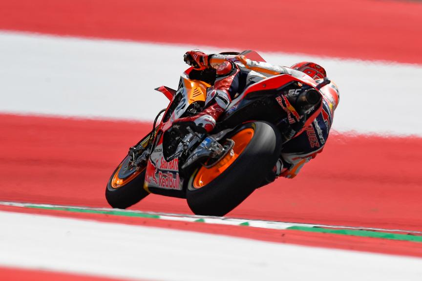 Marc Marquez, Repsol Honda Team, eyetime Motorrad Grand Prix von Österreich