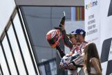 Jorge Lorenzo, Marc Marquez, Andrea Dovizioso, eyetime Motorrad Grand Prix von Österreich