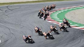 Schau dir die Kämpfe der potenziellen MotoGP™ Kandidaten im zweiten Rennen in Red Bull Ring an