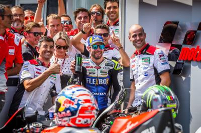 """Crutchlow: """"It was a lonely race"""""""