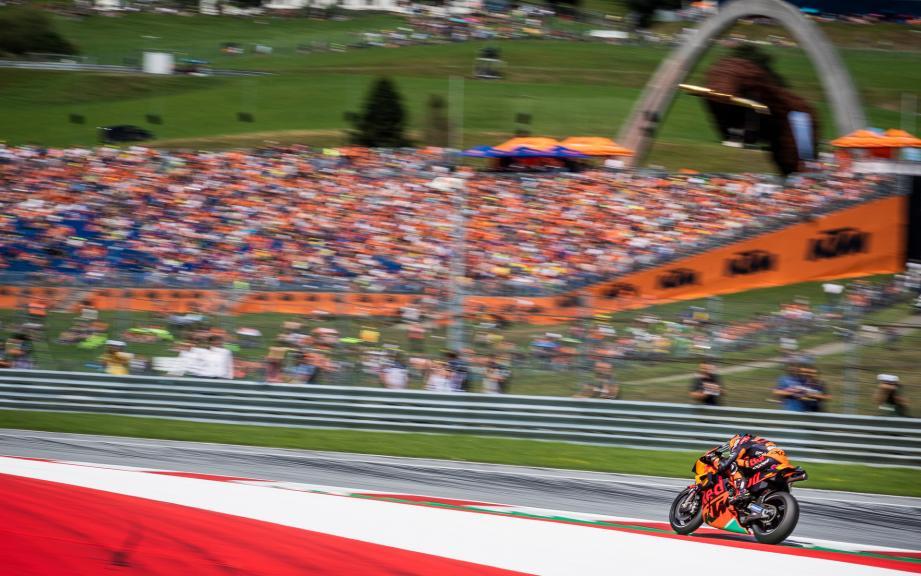 Bradley Smith, Red Bull KTM Factory Racing, eyetime Motorrad Grand Prix von Österreich