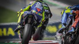 Valentino Rossi revient sur cette remontée qui lui aura permis de terminer 6e du GP d'Autriche, alors qu'il partait de la 14e place.