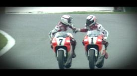 25 years since Cadalora's first 500cc victory at Donington, when he disobeyed orders to let his Yamaha teammate win