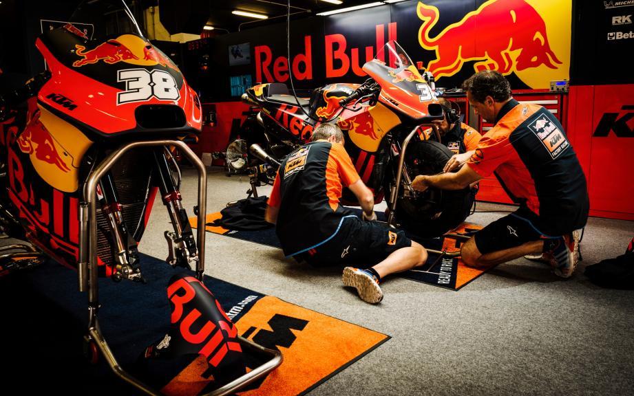 Red Bull KTM Factory Racing, eyetime Motorrad Grand Prix von Österreich