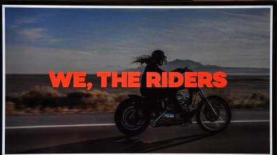 'We, the riders': boosting rider visibility and safety