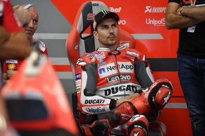 Ciabatti: «Jorge pourra tester avec Honda dès Valence»