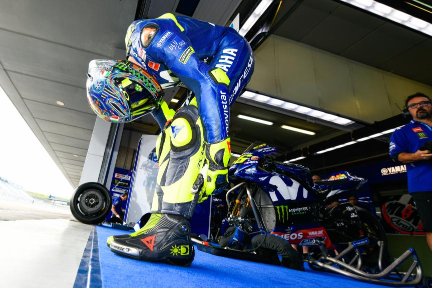 Valentino Rossi, Movistar Yamaha MotoGP, eyetime Motorrad Grand Prix von Österreic