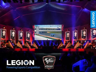 Powered by Lenovo Legion: a new partner for MotoGP™ eSport