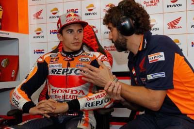 """Márquez no afloja: """"Quiero subir al podio"""""""