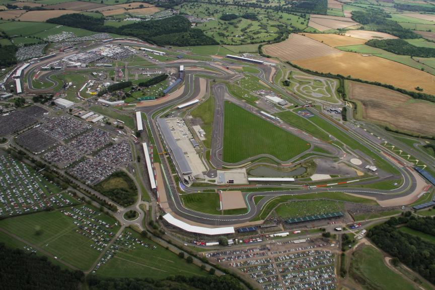 Silverstone Circuit - Aerial