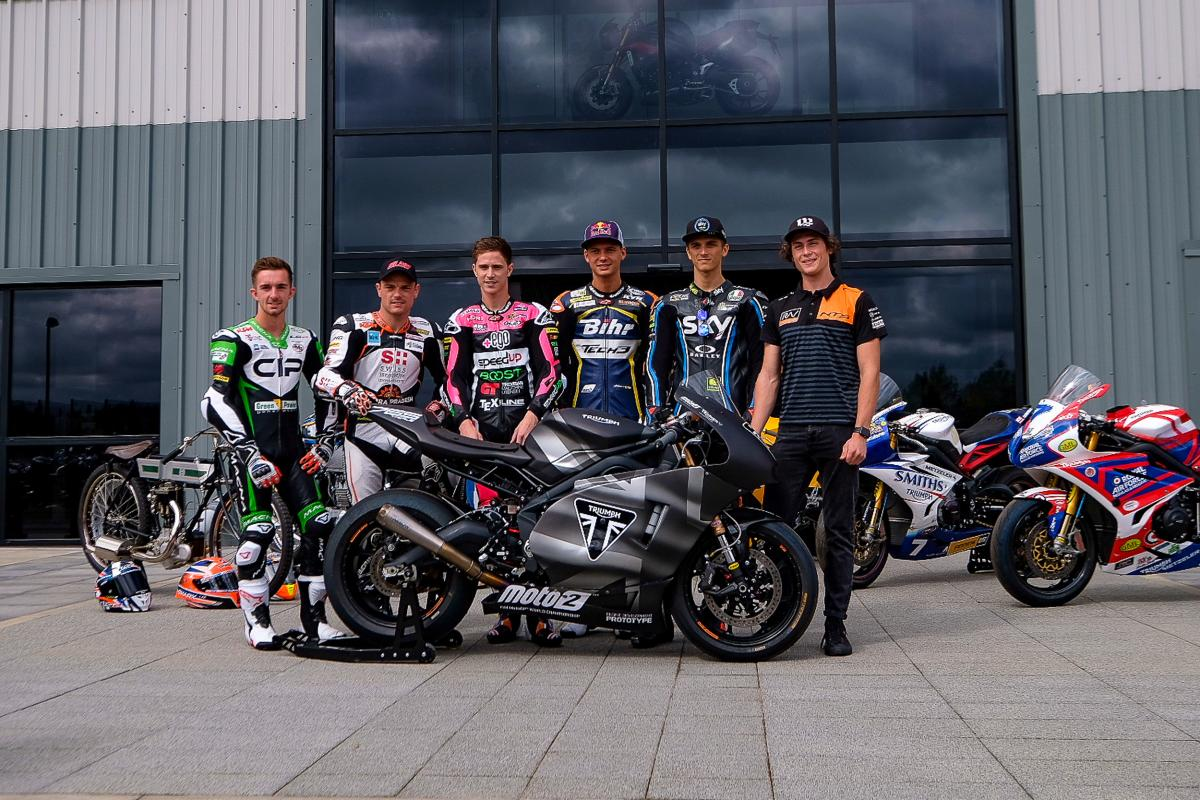Triumph tour: Wednesday warm up for Silverstone | MotoGP™