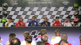 Catch the rider's thoughts and their answers to some extra special questions ahead of the British Grand Prix