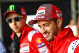 Andrea Dovizioso, Ducati Team, Day Of Champions, GoPro British Grand Prix