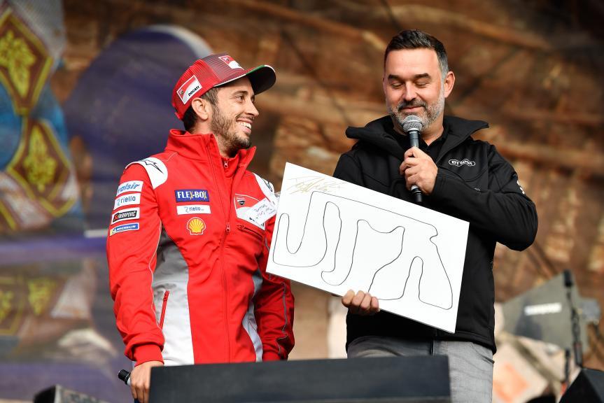 Andrea Dovizioso, Ducati Team, Day Of Champions, GoPro British Grand Prix