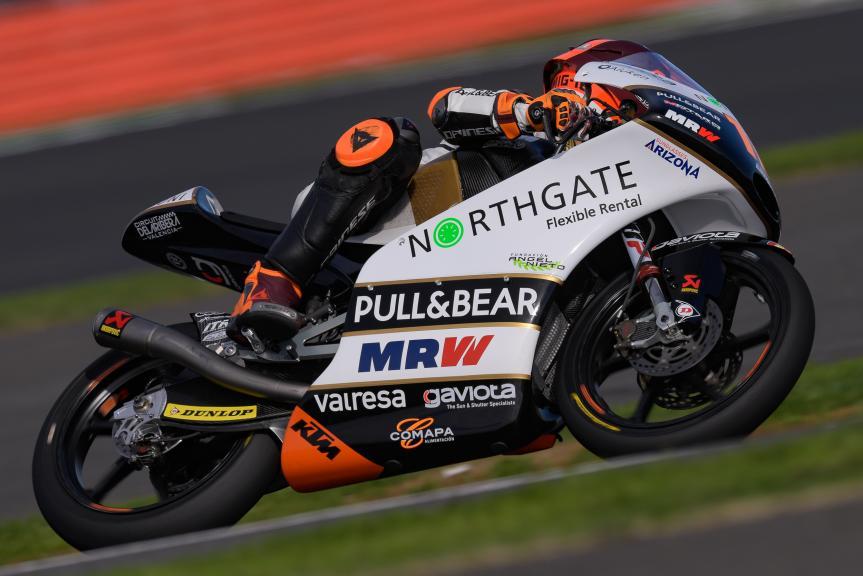 Andrea Migno, Angel Nieto Team Moto3, GoPro British Grand Prix