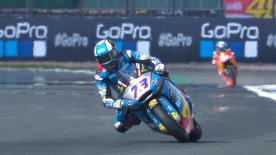 The opening Free Practice session for the Moto2? World Championship at the Silverstone Circuit
