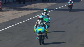Watch the first Free Practice session of the 12th round of the Moto3? World Championship