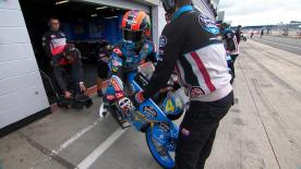 The second Free Practice session for the Moto3? World Championship at the British GP