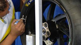 Michelin Motorsport's Two-Wheel Manager, Piero Taramasso explains what the tyre manufacturer has brought to the Silverstone Circuit