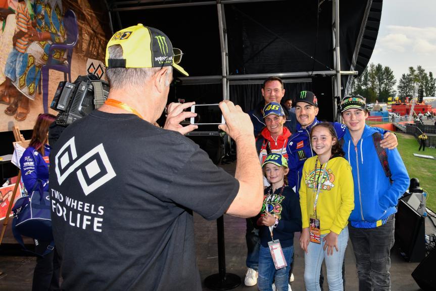 Maverick Viñales, Movistar Yamaha MotoGP, Day Of Champions, GoPro British Grand Prix