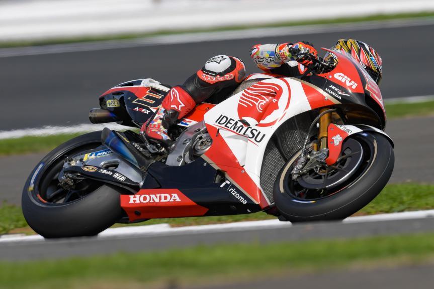 Takaaki Nakagami, LCR Honda Idemitsu, GoPro British Grand Prix