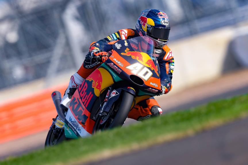 Darryn Binder, Red Bull KTM Ajo, GoPro British Grand Prix