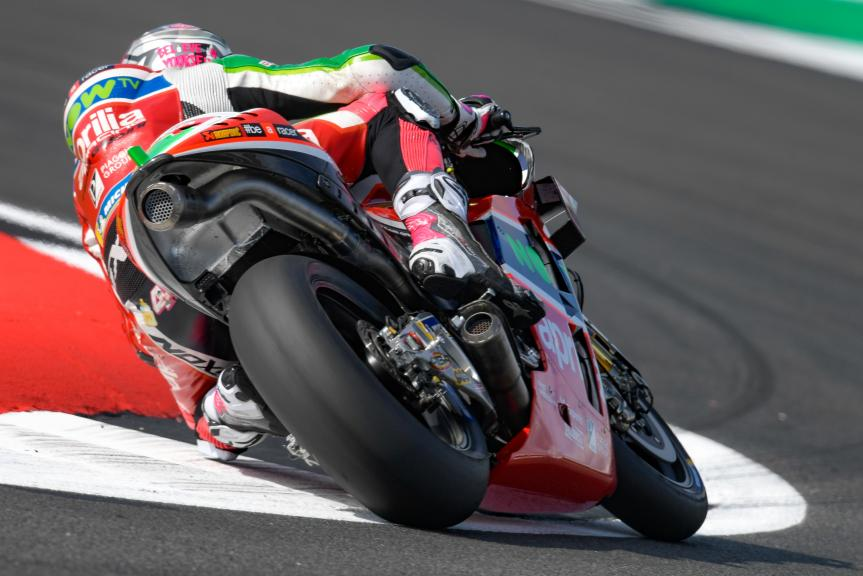 Aleix Espargaro, Aprilia Racing Team Gresini, GoPro British Grand Prix