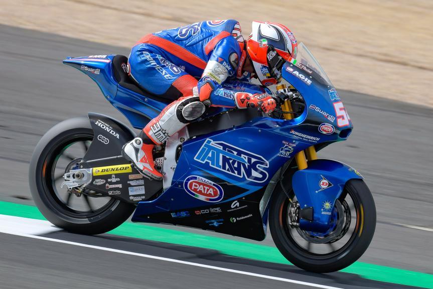 Mattia Pasini, Italtrans Racing Team, GoPro British Grand Prix