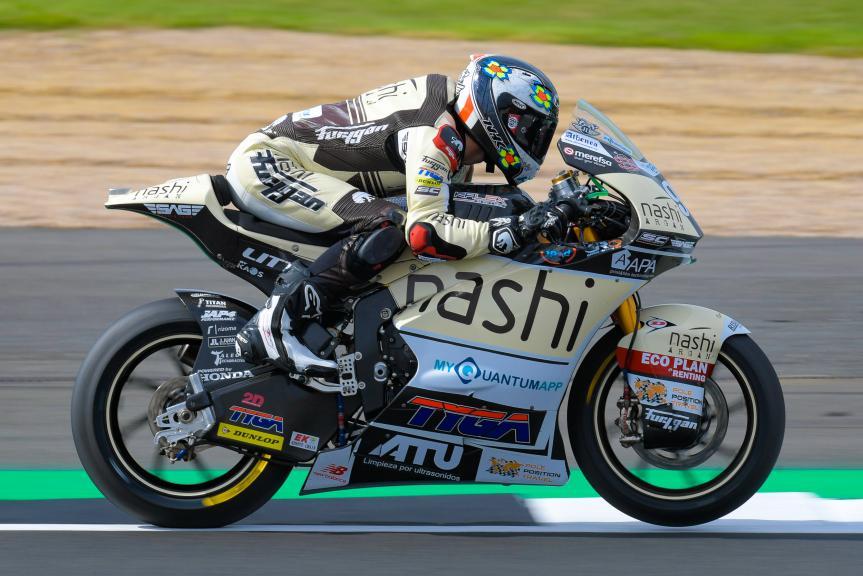Jules Danilo, Nashi Argan SAG Team, GoPro British Grand Prix