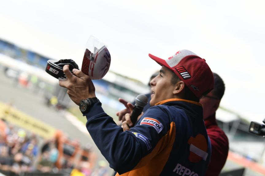Marc Marquez, Repsol Honda Team, Day Of Champions, GoPro British Grand Prix