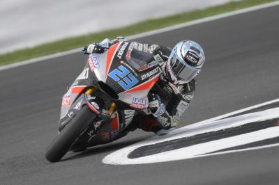 Schrötter sets early pace at Silverstone