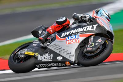 Schrötter remains top overall as rain affects Moto2™ FP2