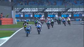 All the Moto3? qualifying action from the UK. Watch as the lightweight class battle for their grid positions as Silverstone