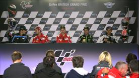 We hear from the Top 3 in MotoGP? and the polemen in Moto2? and Moto3? in Saturday's Press Conference