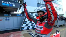 ホルヘ・ロレンソが今季2度目のポールポジションを獲得した公式予選のダイジェストビデオ。