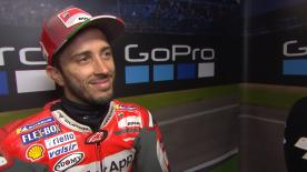 The Italian finished second in Qualifying behind his teammate and believes that the Ducatis could be with a chance of victory in the UK