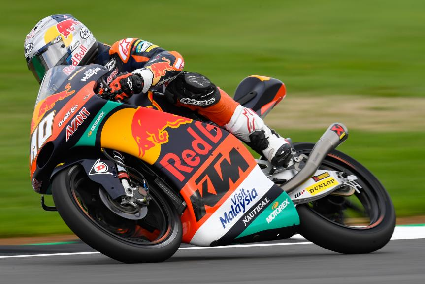 Darryn Binder, Red Bull KTM Ajo, GoPro British Grand Prix