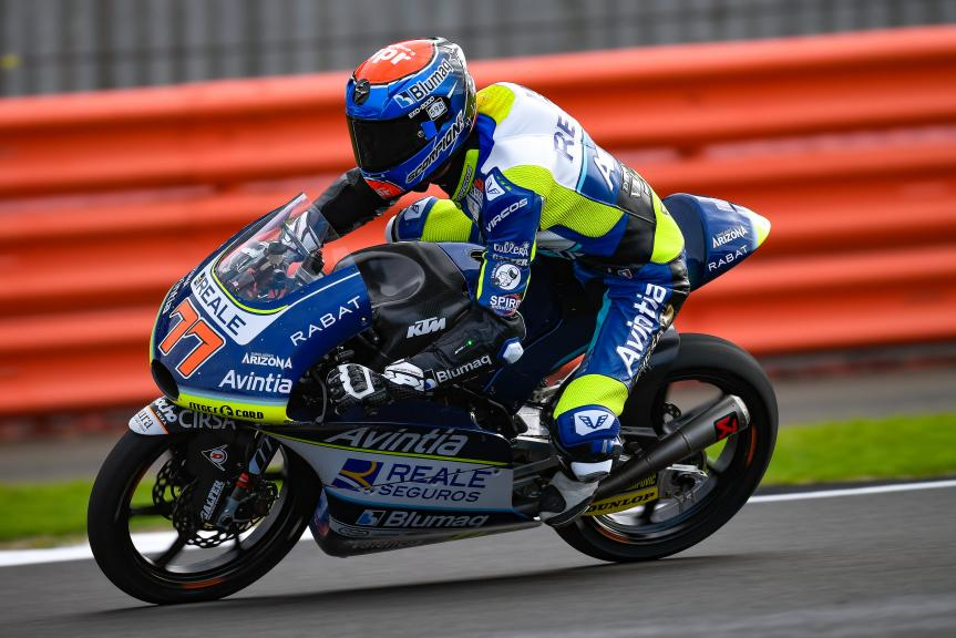 Vicente Perez, Reale Avintia Academy, GoPro British Grand Prix