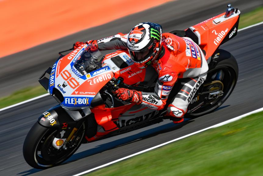 Jorge Lorenzo, Ducati Team, GoPro British Grand Prix