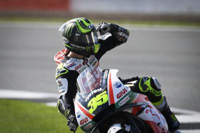 "Crutchlow: ""I wanted the front row or pole"""