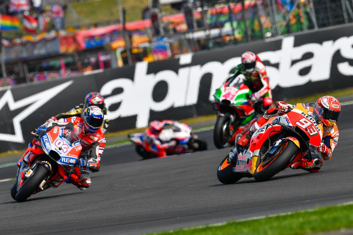 Important changes: time schedule for Silverstone | MotoGP™