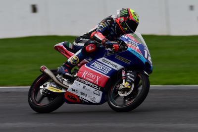 Bezzecchi quickest as rain begins to fall on Sunday