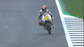 Watch the Moto3™ Warm Up session ahead of the main event at Silverstone
