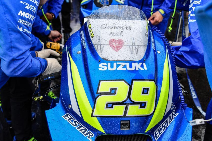 Andrea Iannone, Team Suzuki Ecstar, GoPro British Grand Prix