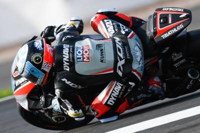 Schrötter pips Gardner in wet Moto2™ Warm Up