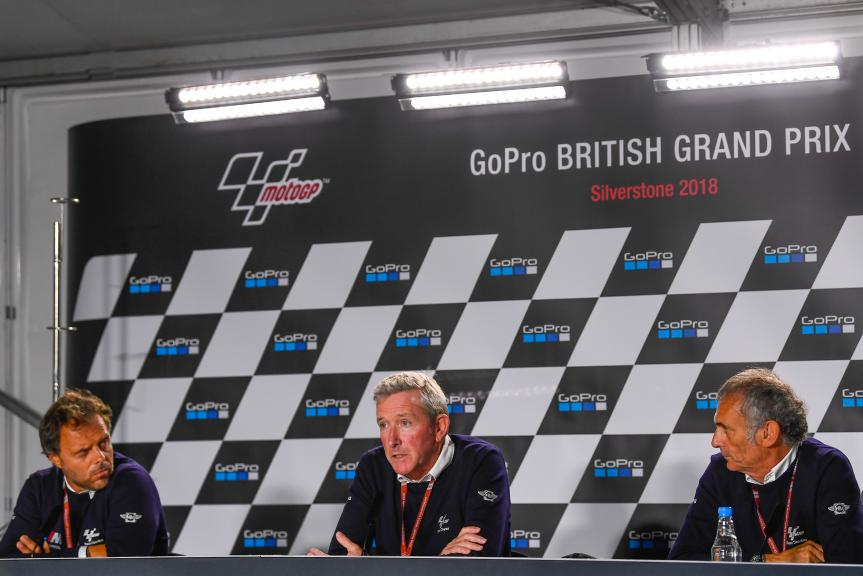 Press Conference, GoPro British Grand Prix